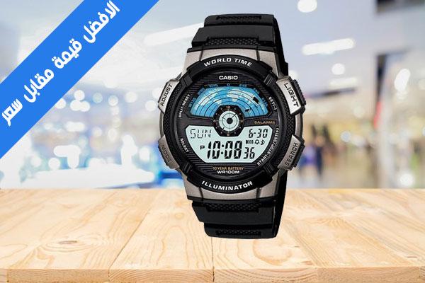 AE-1100W-1AV مراجعة ساعة كاسيو الذكية