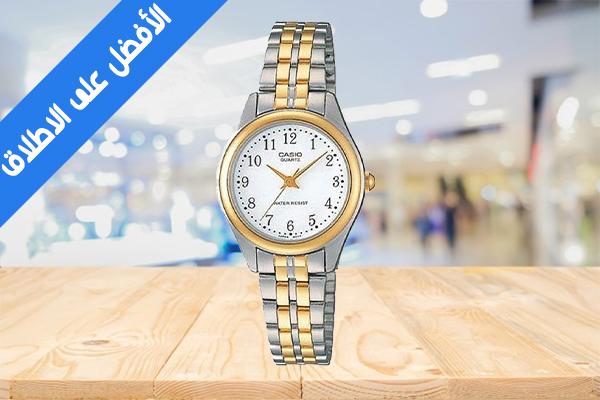 ساعة يد يد حريمي كاسيو فاخرة