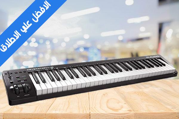M-Audio مراجعة بيانو