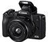 كاميرا رقمية كانون EOS M50